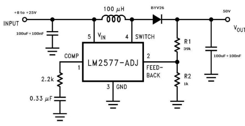 stepup voltage converter