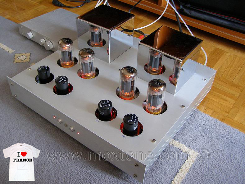 Siemox F2a tube amplifier